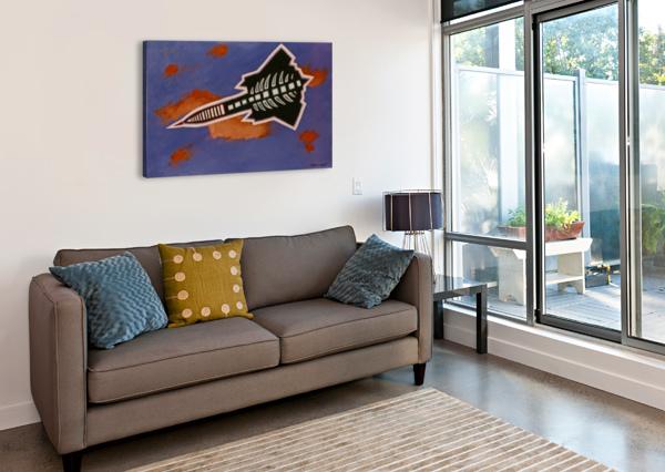 ROCKET SHIP CRAIG CAMP  Canvas Print