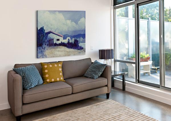 PRAIRIE HOUSE CRAIG CAMP  Canvas Print