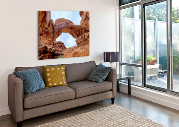 GRAND ARCH ANUSHREE SENGUPTA  Canvas Print