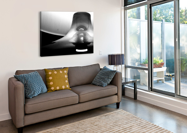 HERE ALONE ALEXIS PATTEN  Canvas Print