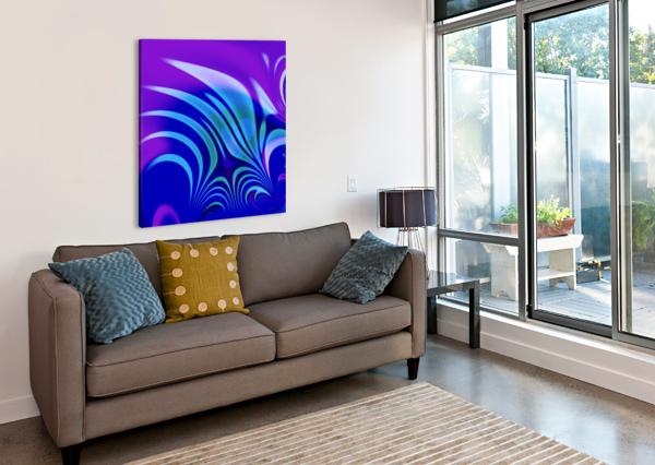 ENCHANTED_SWAMP_SERIES EGALITARIAN ART GALLERY  Canvas Print