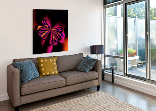 FLY_FLY_FLY_TAKE_1 EGALITARIAN ART GALLERY  Canvas Print