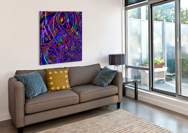 HOMAGE_TO_DALE_CHIHULY EGALITARIAN ART GALLERY  Canvas Print