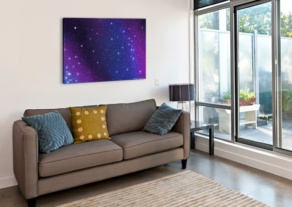 GALAXY SERIES - 2 ANUSHREE SENGUPTA  Canvas Print