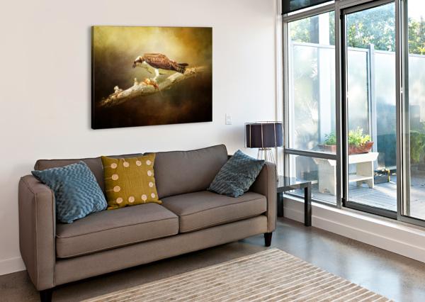 LUNCH TIME MICHEL SOUCY  Canvas Print