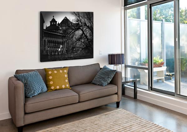 VOLKSBAD ARTWORK VIEW - AMAZING PHOTOGRAPHY  Canvas Print