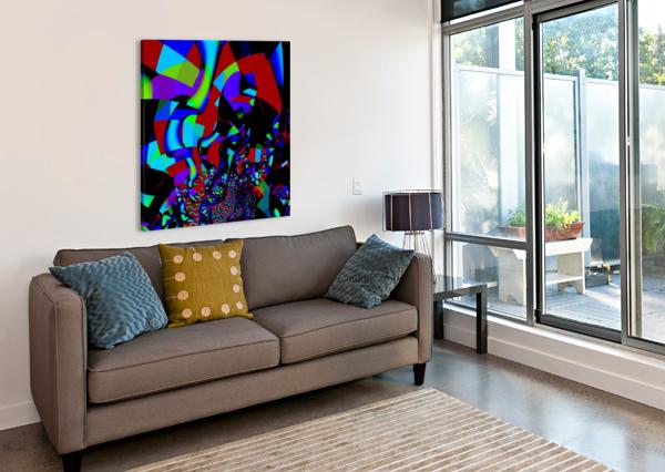 JAZZ_FUSION_SERIES_1 EGALITARIAN ART GALLERY  Canvas Print