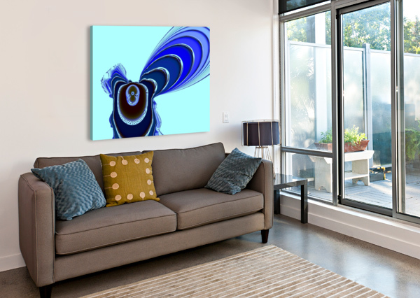 FLY_FLY_FLY EGALITARIAN ART GALLERY  Canvas Print