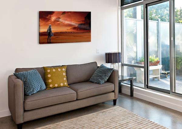 TITAN EXPLORER BILL WRIGHT  Canvas Print