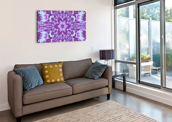PAINTED WILDFLOWERS 12 SHERRIE LARCH  Canvas Print