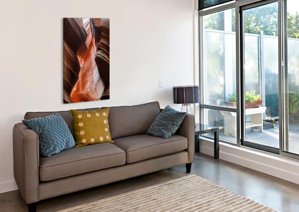 UPPER ANTELOPE CANYON 2 TELLY GOUMAS   Canvas Print