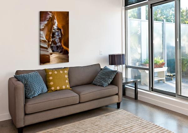 UPPER ANTELOPE CANYON 5 TELLY GOUMAS   Canvas Print