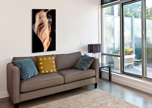 UPPER ANTELOPE CANYON 11 TELLY GOUMAS   Canvas Print