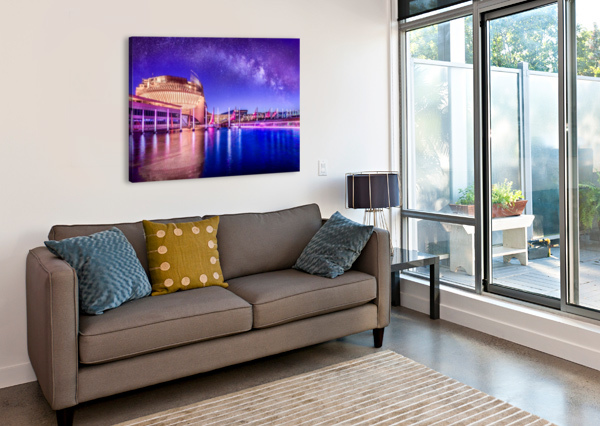 CASINO MILKY WAY TELLY GOUMAS   Canvas Print