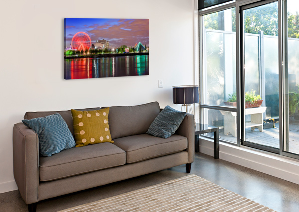_TEL0628 HDR 1 2 TELLY GOUMAS   Canvas Print