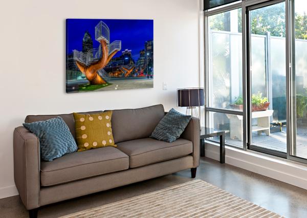 _TEL5194 HDR 1 2 TELLY GOUMAS   Canvas Print