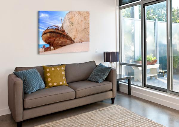 _TEL3227 TELLY GOUMAS   Canvas Print