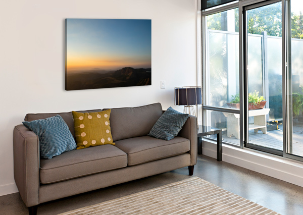 CALMING SUNSET BILLSAHMAD  Canvas Print
