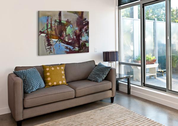 ALXF0005 EGALITARIAN ART GALLERY  Canvas Print