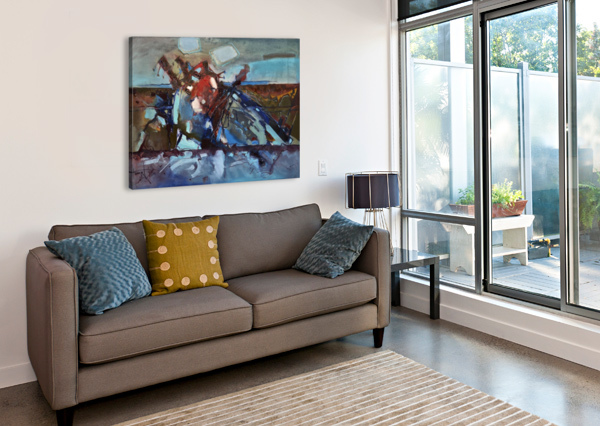 ALXF0009 EGALITARIAN ART GALLERY  Canvas Print