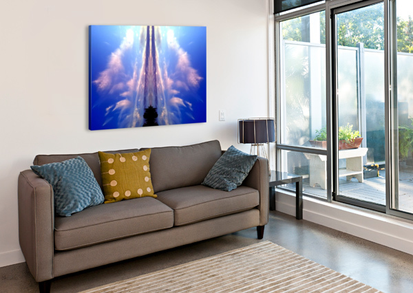CLOUD 60 CARLOS MANZCERA  Canvas Print