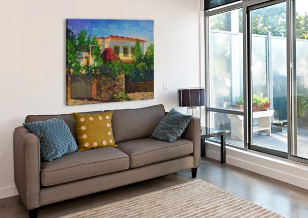 LITTLE_SPANISH_HOUSE EGALITARIAN ART GALLERY  Canvas Print