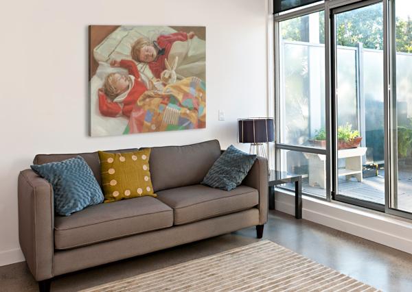 GOLDEN_SLUMBERS EGALITARIAN ART GALLERY  Canvas Print