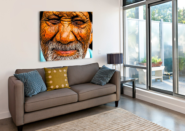 SQUINT W SCOTT  Canvas Print