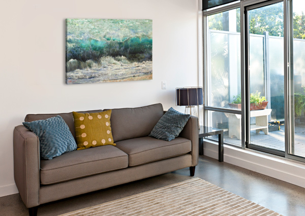 THE_WAVE EGALITARIAN ART GALLERY  Canvas Print