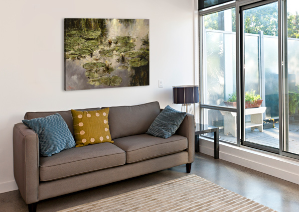 OLD_POND EGALITARIAN ART GALLERY  Canvas Print