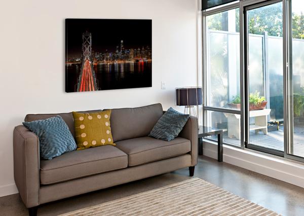 SPIN CITY JONGAS PHOTO  Canvas Print