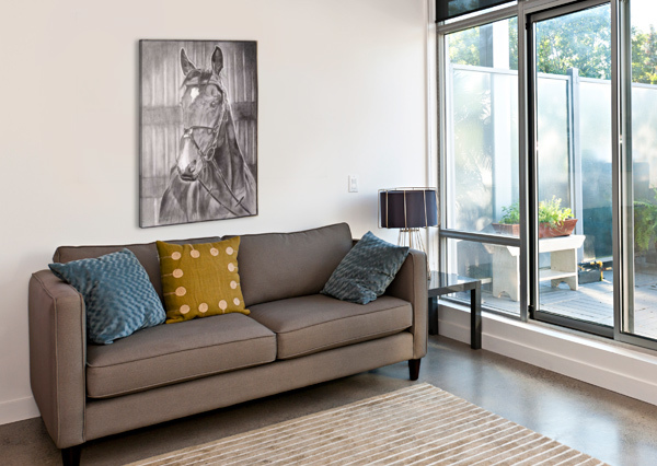 HORSE_DKS D K SAXENA  Impression sur toile