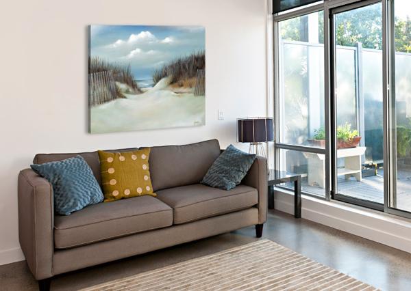 SAND DUNES BILL GIMBEL  Canvas Print