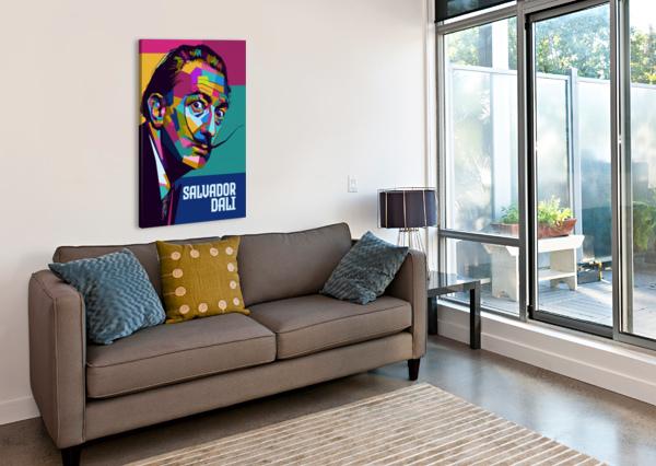 SALVADOR DALI ARTWORK POSTER  Canvas Print