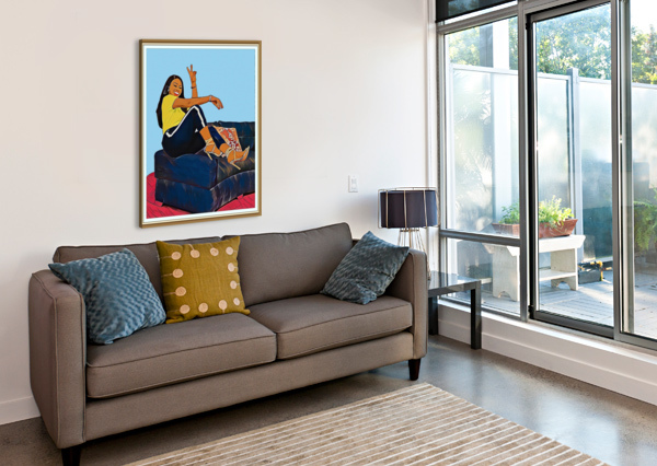 SUPER SPLASH ARTISTIC  Canvas Print