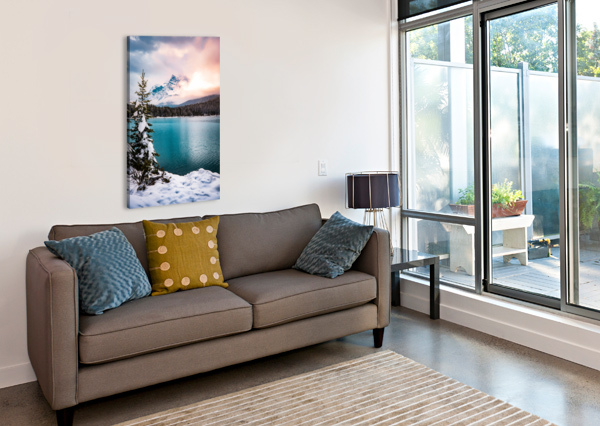 WINTER WONDERLAND LUCAS MOORE  Canvas Print