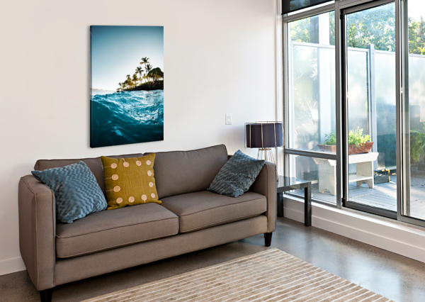 BLUE MORNING LUCAS MOORE  Canvas Print