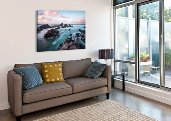 PASTEL WATERS LUCAS MOORE  Canvas Print