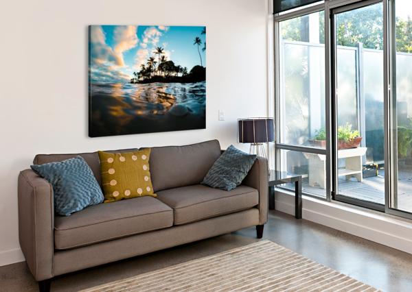 LOST AT SEA LUCAS MOORE  Canvas Print
