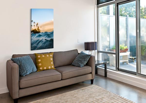 AT SEA LUCAS MOORE  Canvas Print