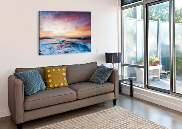 EASY EVENING LUCAS MOORE  Canvas Print
