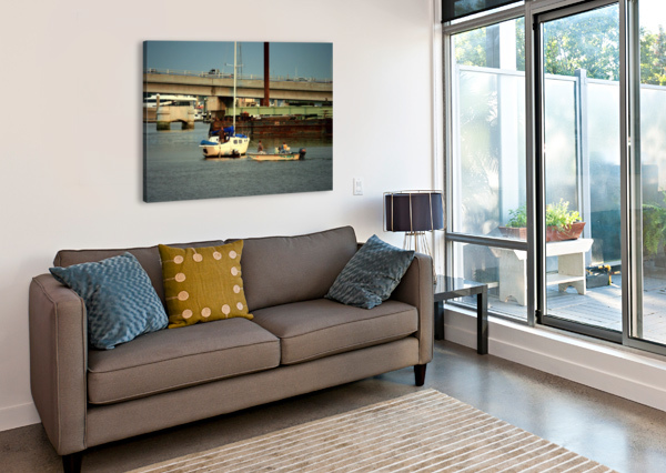 PICTURE079 EGALITARIAN ART GALLERY  Canvas Print