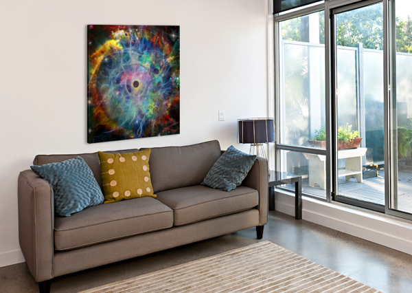 THE EYE OF TIME BRUCE ROLFF  Canvas Print