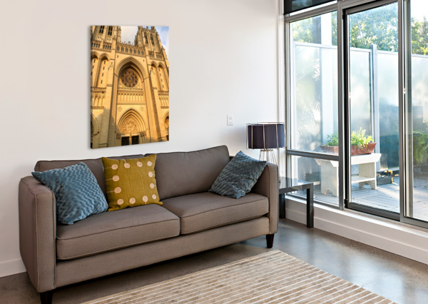 NATIONAL CATHEDRAL AEDIFICO PRINTS  Canvas Print