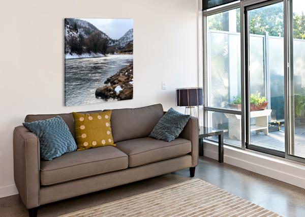 COLORADO RIVER AEDIFICO PRINTS  Canvas Print