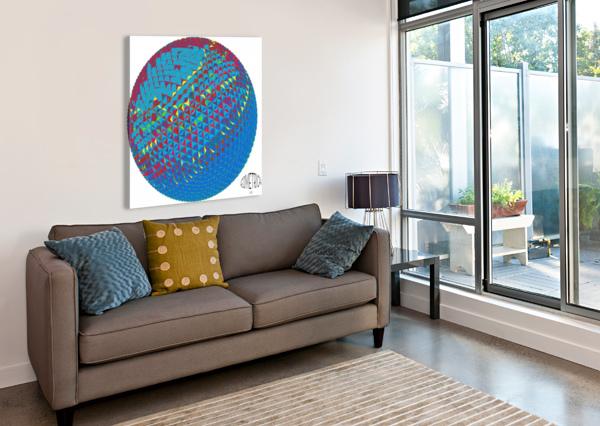 GEOMETRICAL DEPACE-  Canvas Print
