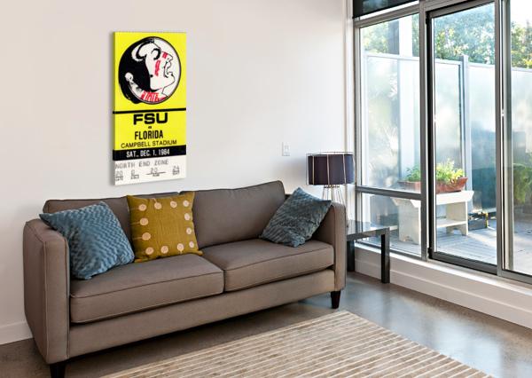 1984 FSU VS. FLORIDA ROW ONE BRAND  Canvas Print