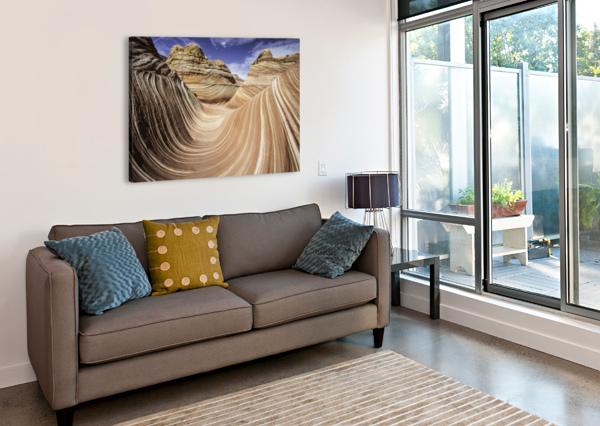SAND WAVES SEBASTIAN DIETL  Canvas Print