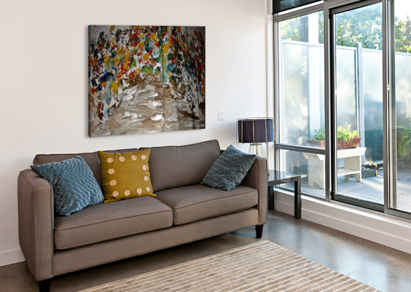 TREES 2 CANDID ART  Canvas Print