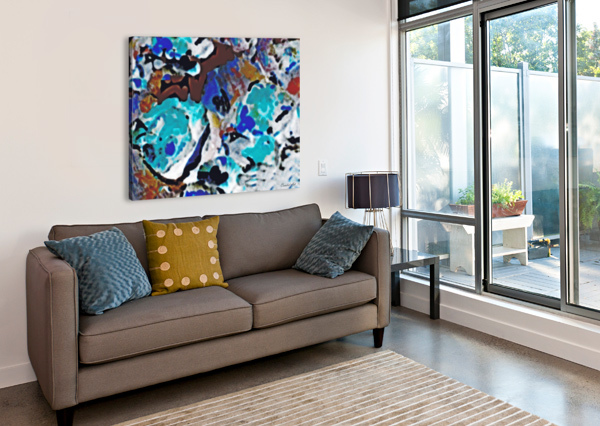 SPECIFICALLY UNTITLED CANDID ART  Canvas Print